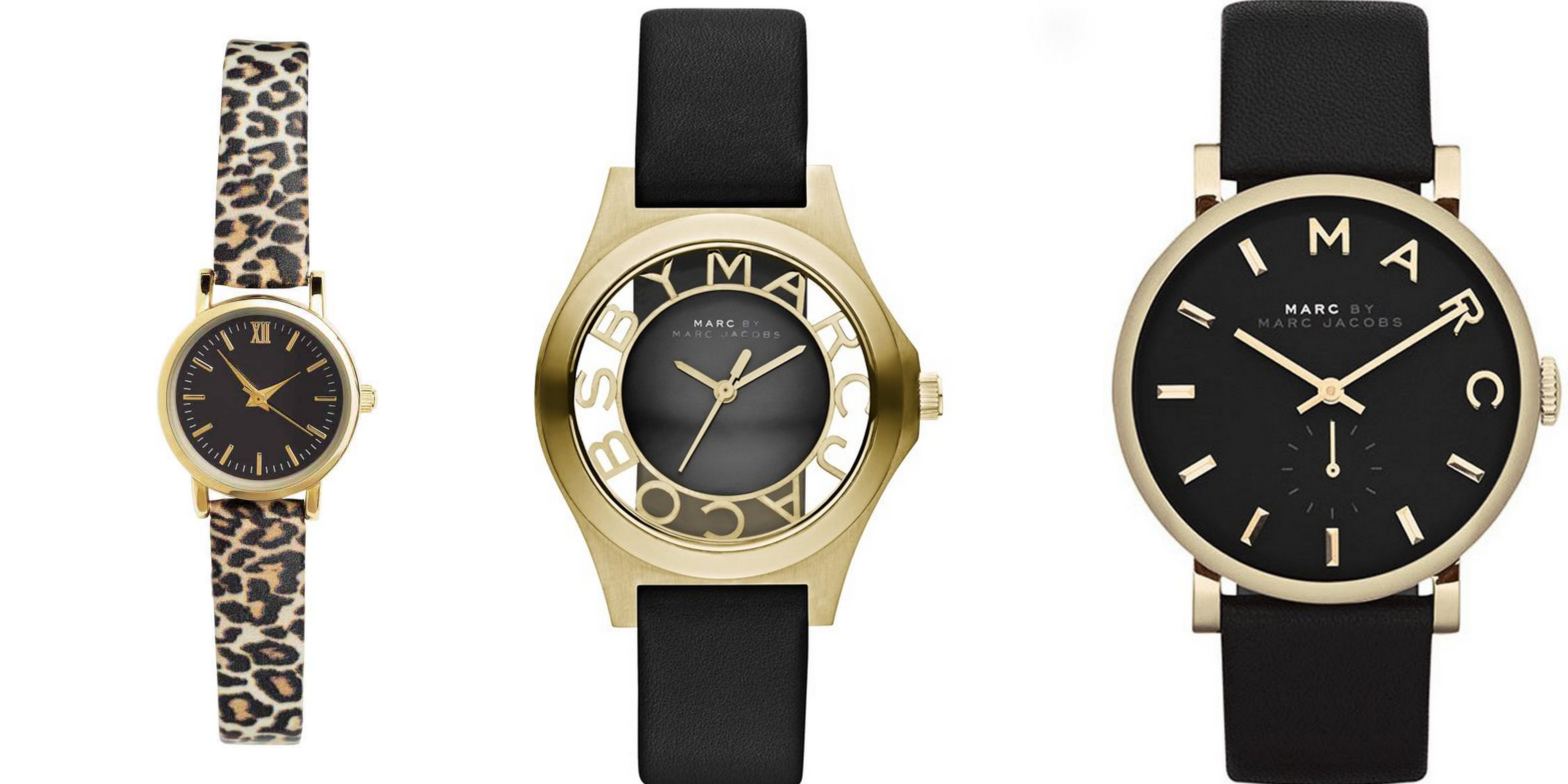 Watch H&M - €14,99 | Watch Marc by Marc Jacobs - €209 | Watch Marc by Marc Jacobs - €199
